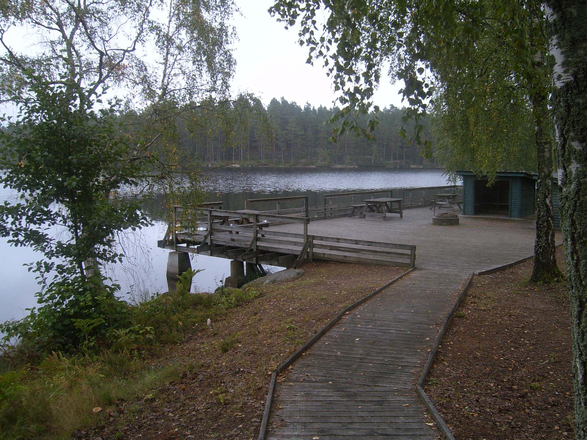 C-J Månsson, Stora Hammarsjön, Stora Hammarsjöområdet