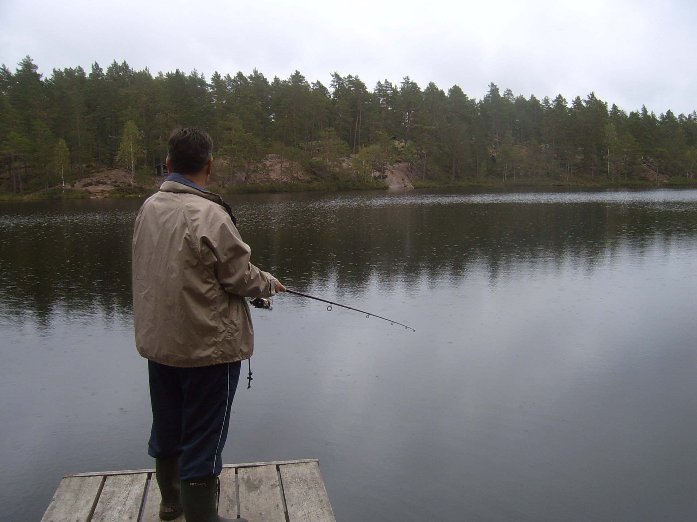 C-J Månsson, Djupsjön, Stora Hammarsjöområdet