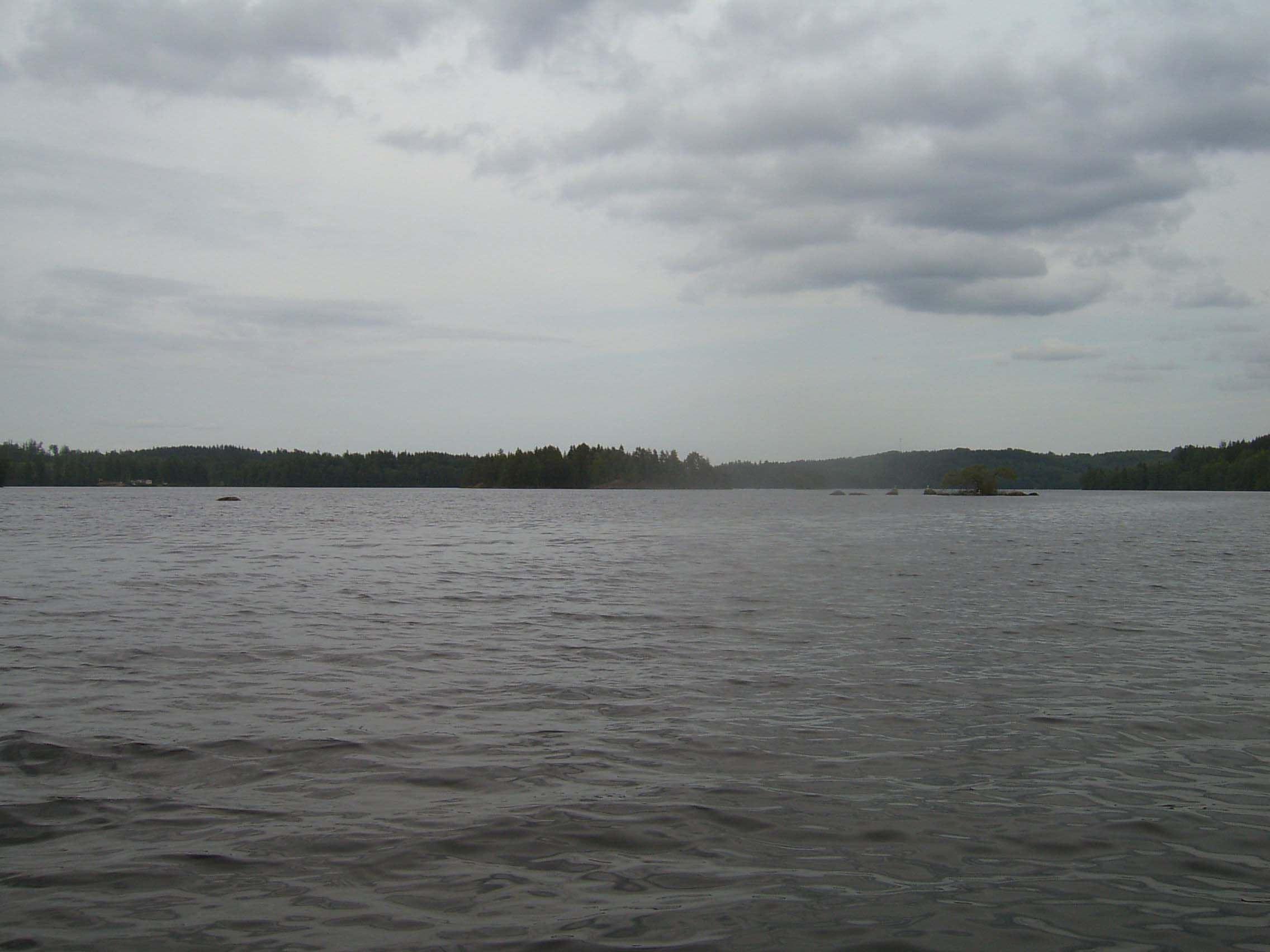 Hjortesjön, Virserum