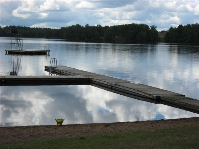 Lake Djupasjön Nature Camp