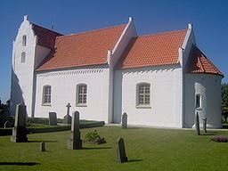 Maglarp's old church