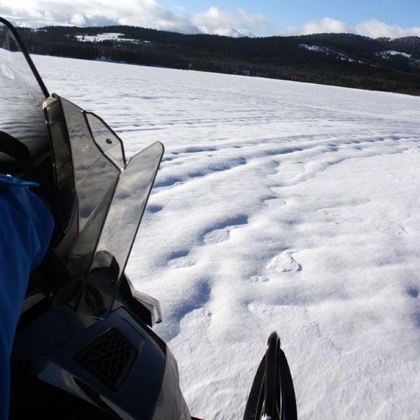 Snöskotertur med Åreguiderna