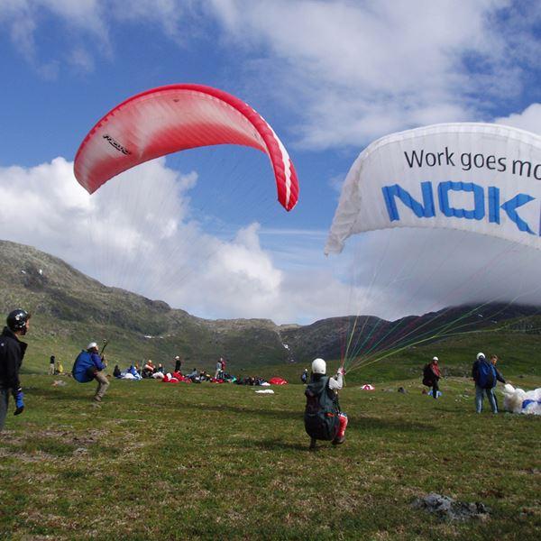 Tandem paragliding with Skysport