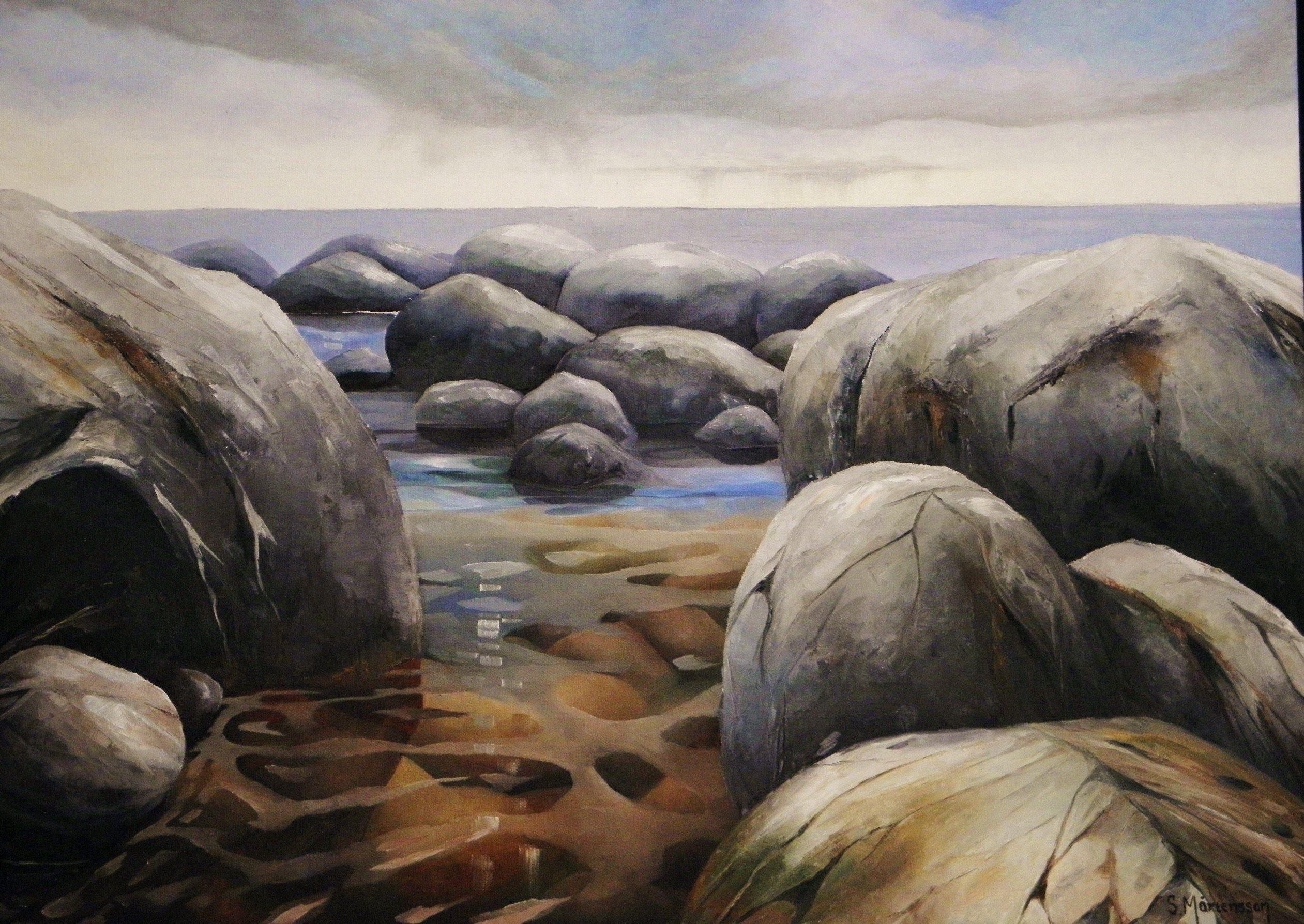 Oljemålning 50x70 cm, Stefan Mårtensson