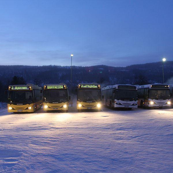 Svensson Saxvallen Buss
