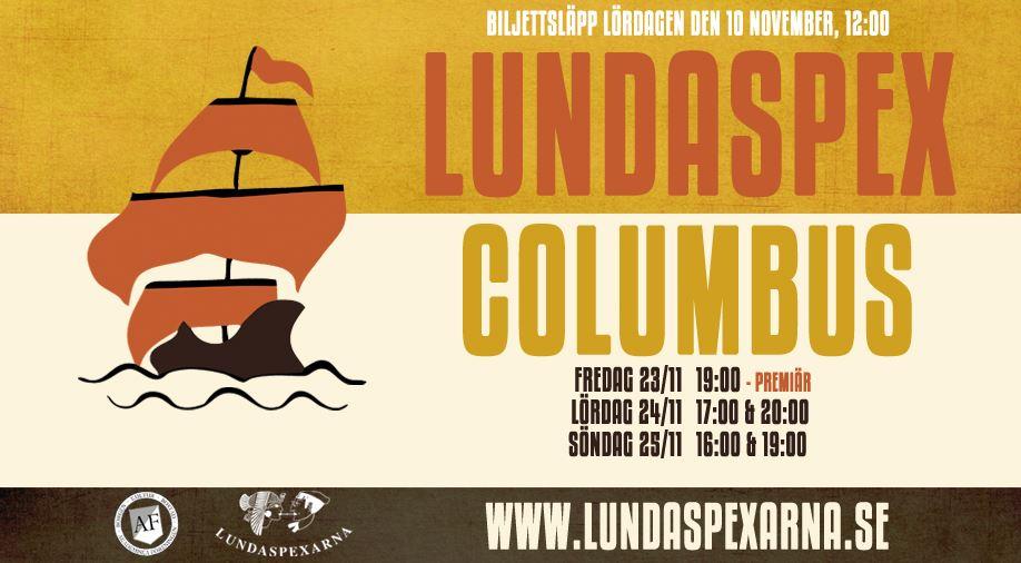 Lundaspexet - Columbus