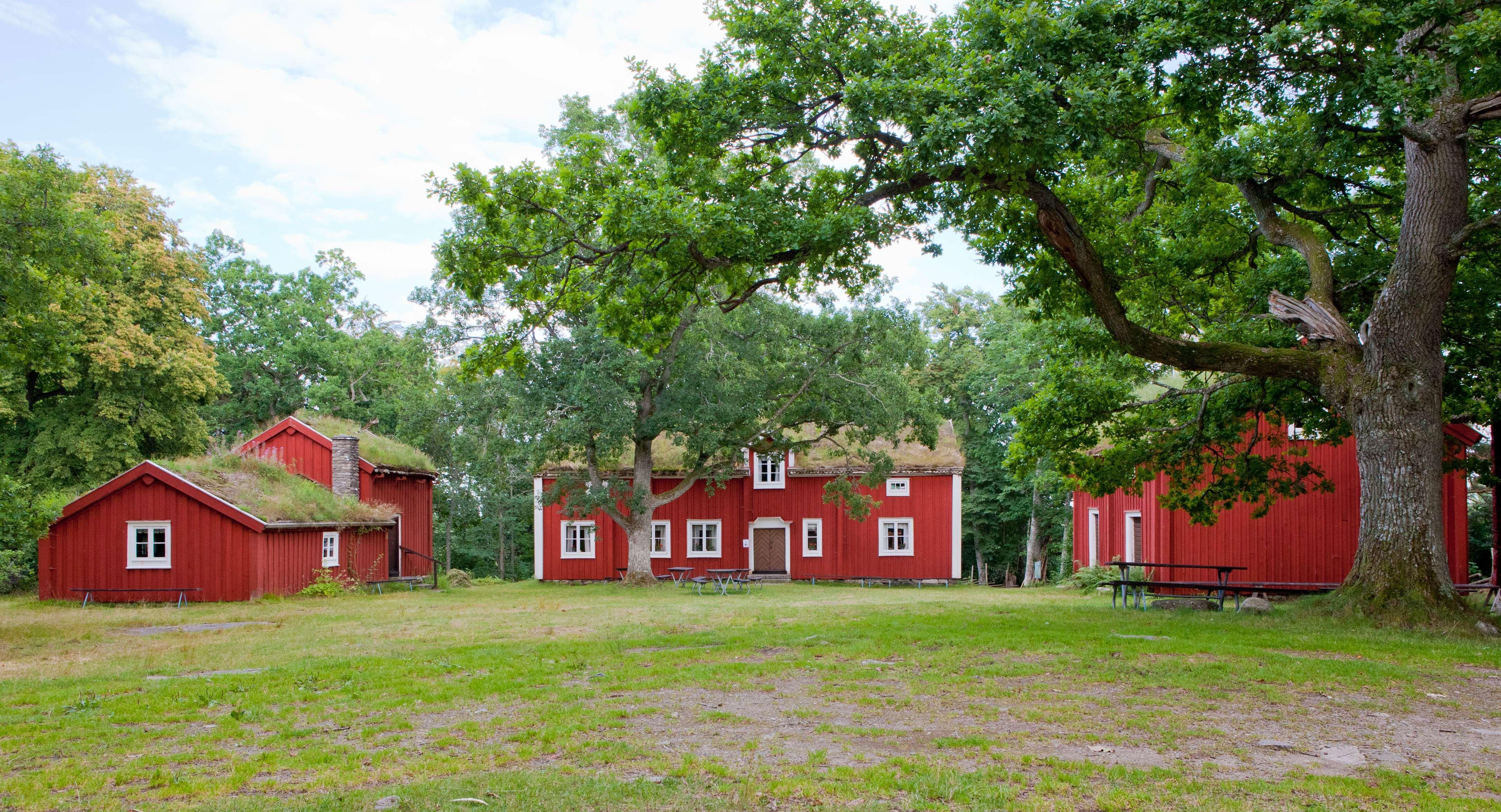PeKa-foto,  © Tingsryds Kommun, Hembygdsgården - Odensvallahults säteri