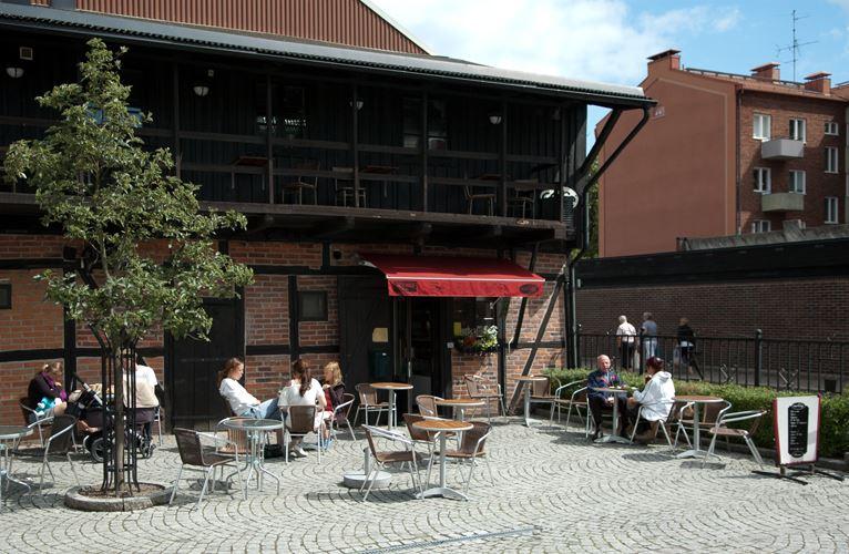 Anders Jarl , Café Madrix -choklad, te & kaffebod