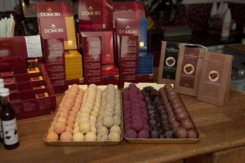 Anders Jarl, Café Madrix -choklad, te & kaffebod