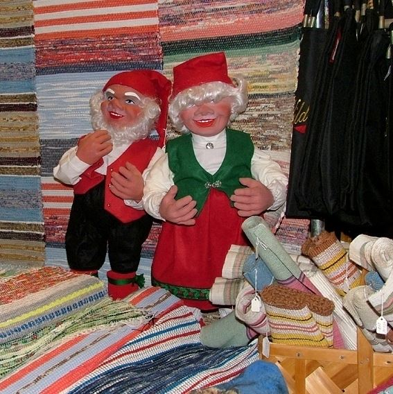 Julmarknad hos Ismyra Loppis