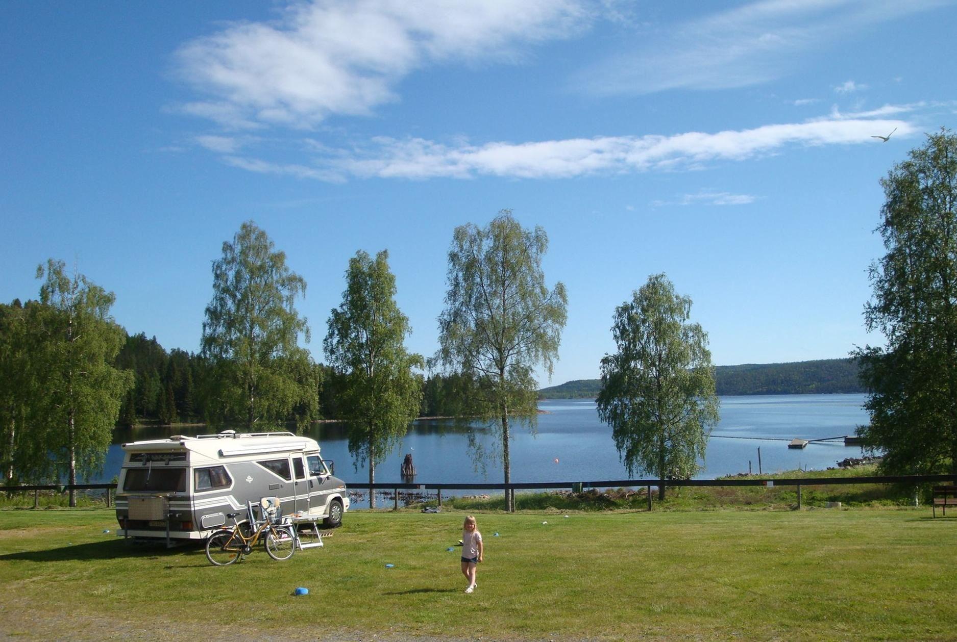 Vacker utsikt vid Måvikens camping