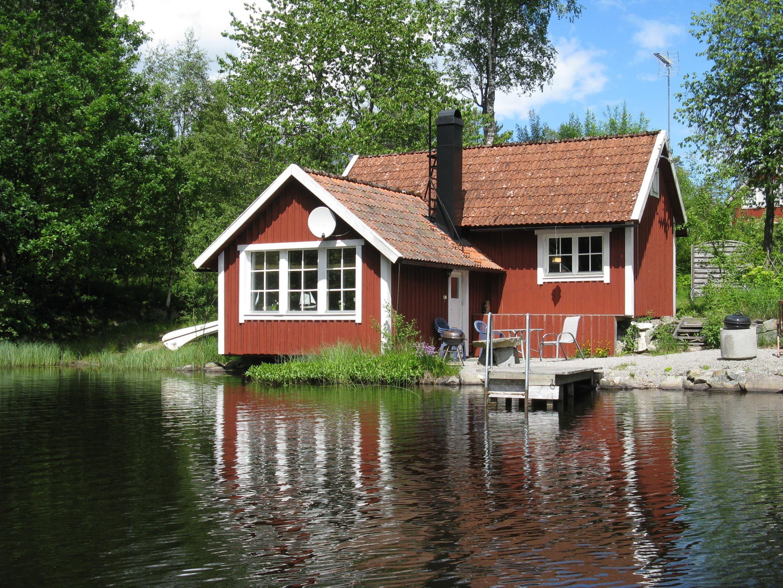 Strandhaus in Småland