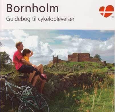 Cykelguidebog med cykelkort inkl. forsendelse kun dansk text