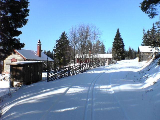 Fäbodrundan, Mora – ski track