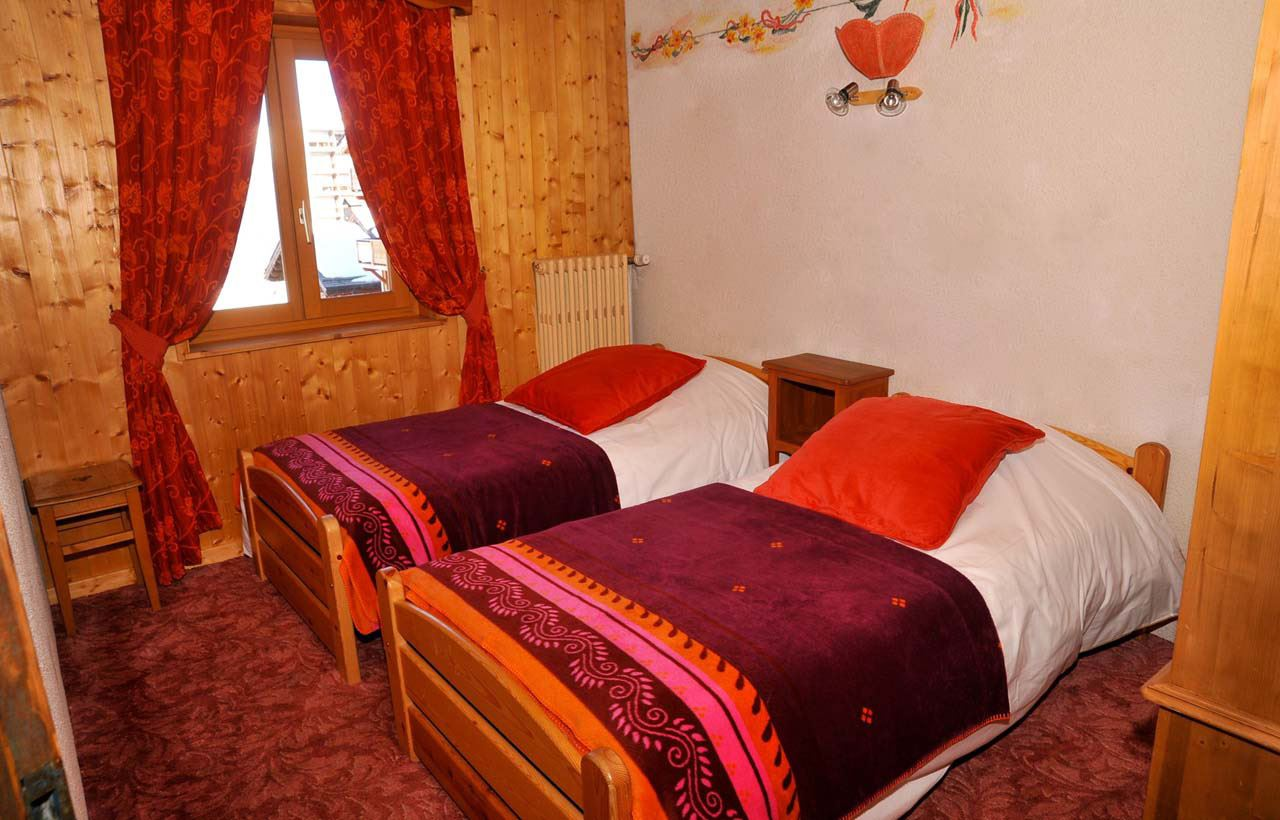 3 rooms 4/6 people / FLEUR DE NEIGE APPARTEMENT 3 (mountain of charm)