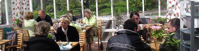 Åbergs Trädgård, Åberg Gardens & Café