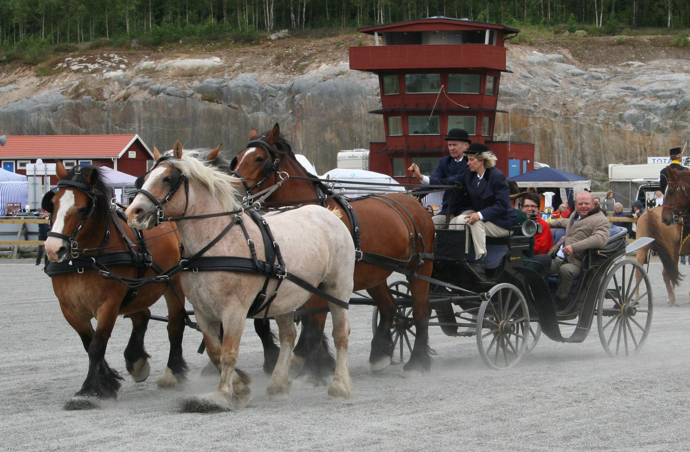 © Tingsryds Kommun, Vagnkörning