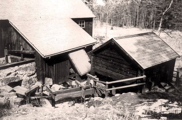 Baggeboda (shed) saw and watermill