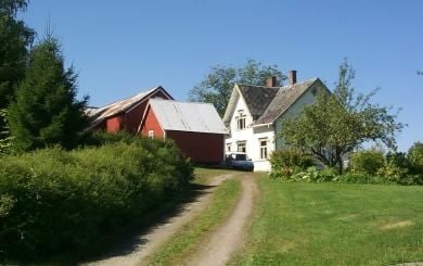 Strømnes, the main house
