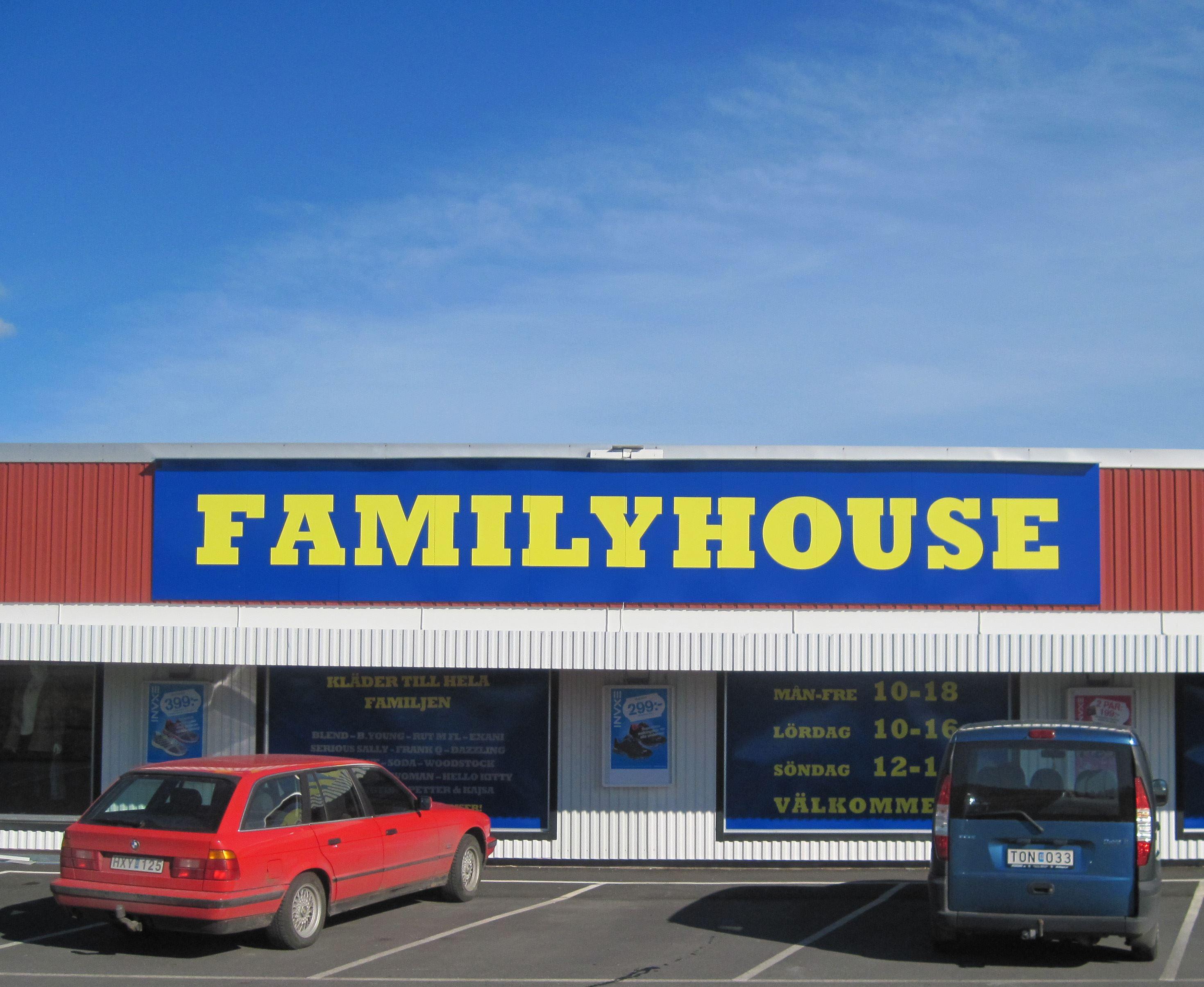 Family house kläder för alla