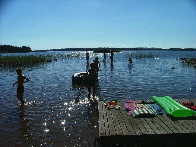 Mjölknabbens Camping,  © Mjölknabbens Camping, Badplatsen
