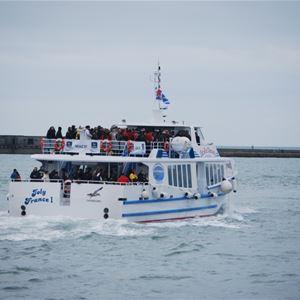 Descente de la Seine, le 6 juin, à bord du