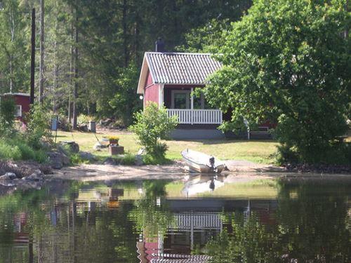 Ferienhäuser auf Borgön