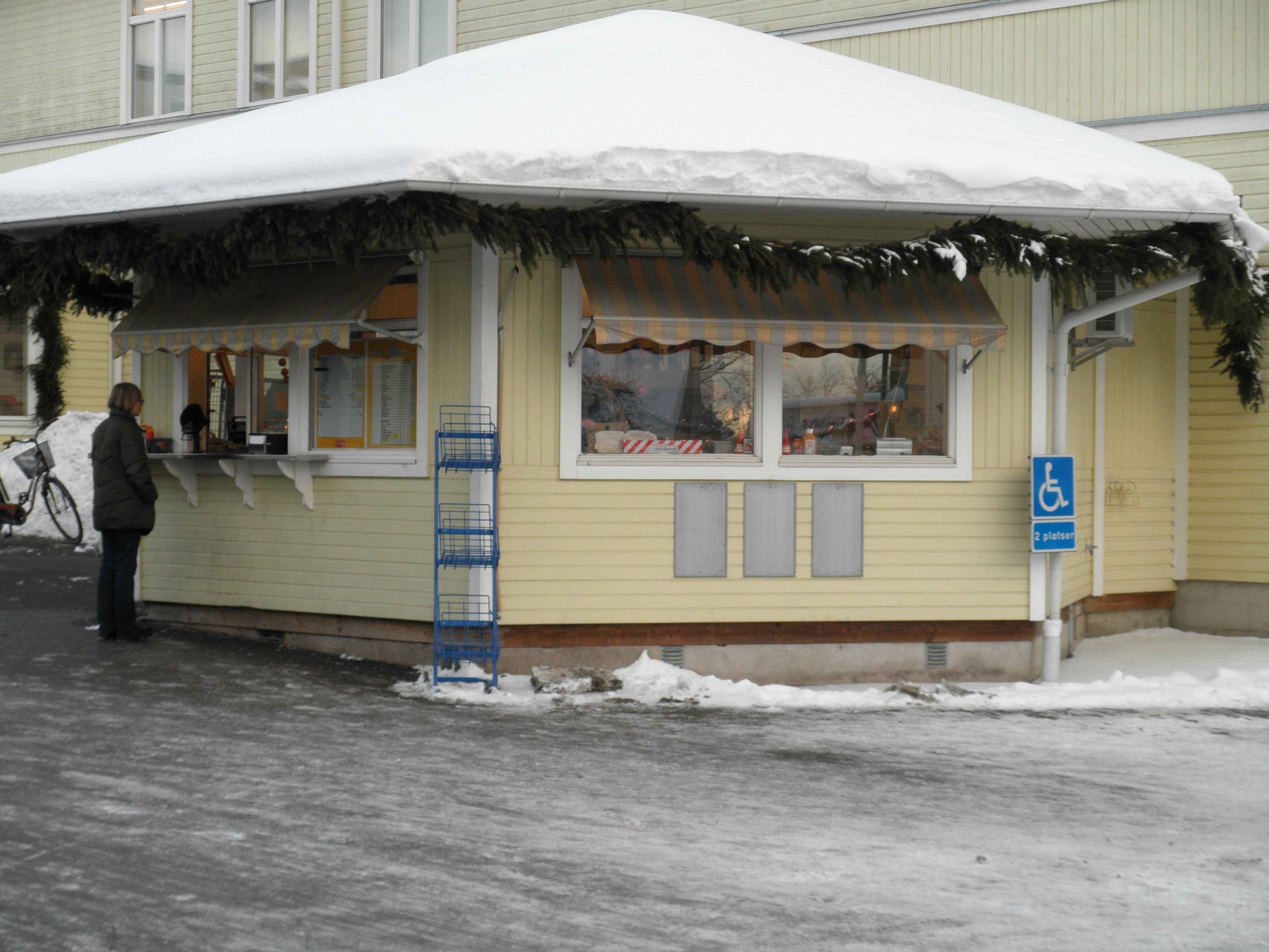 Korvboden på Börjes Torg - Fast food stand at Börjes Square