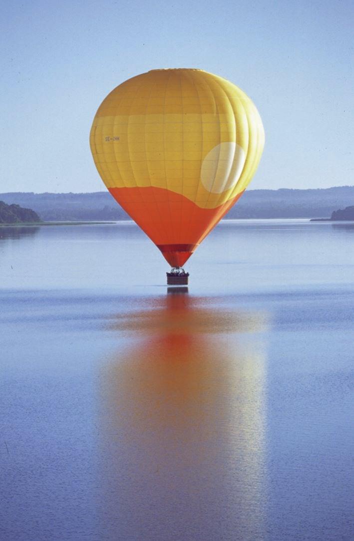 © Ballong och Äventyr, Hot air ballooning