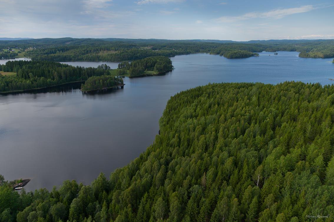Östen i Värmland norr om Töcksfors