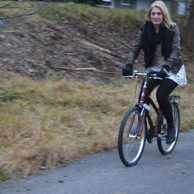 Cornelia Petersson, Radfahren