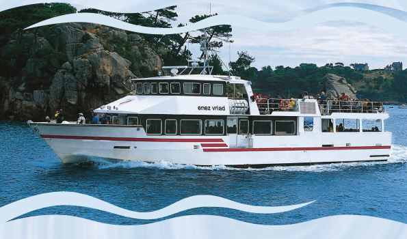 """Croisière Journée à bord du bateau """"Enez Vriad"""""""