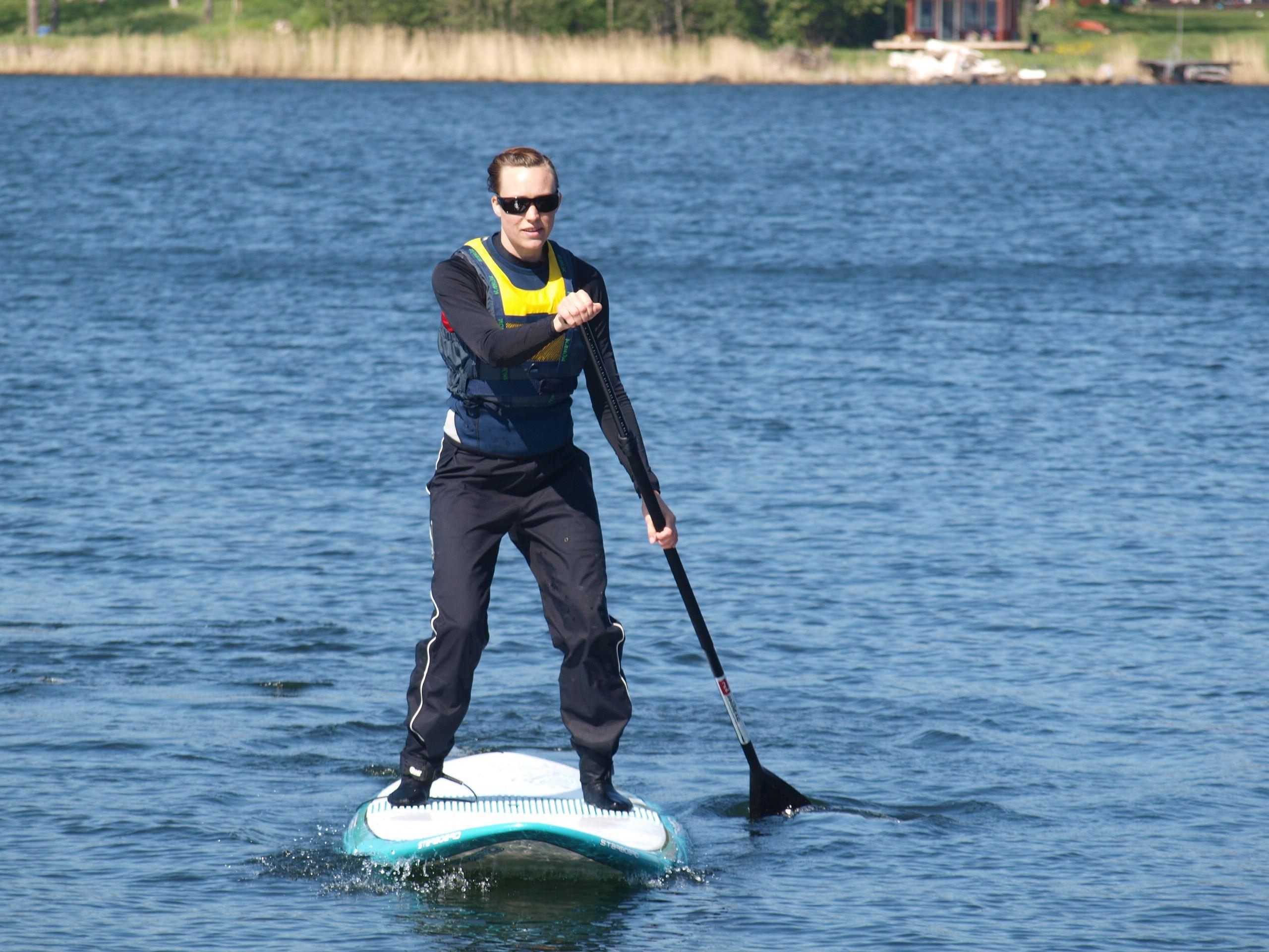 Stand Up Paddle kurs med Kajak och Uteliv