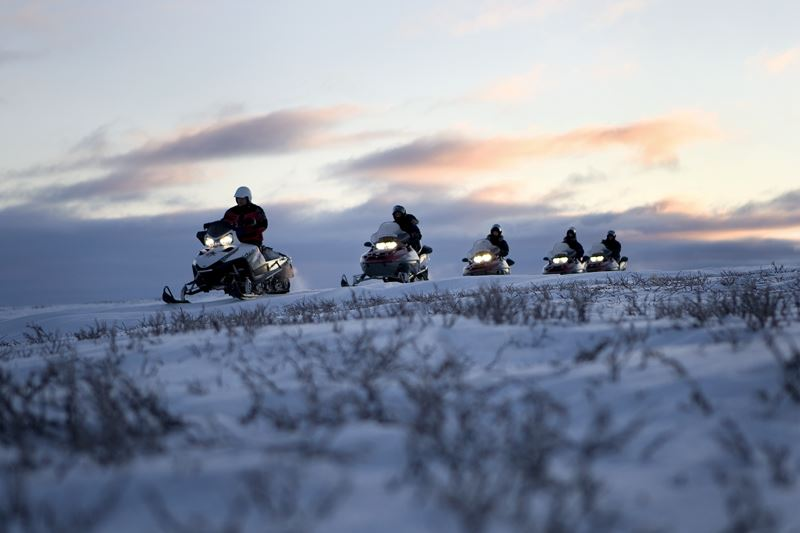 Snowmobilesafari 4 hours