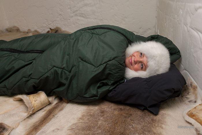 Sleep in the Igloo Hotel at Sorrisniva