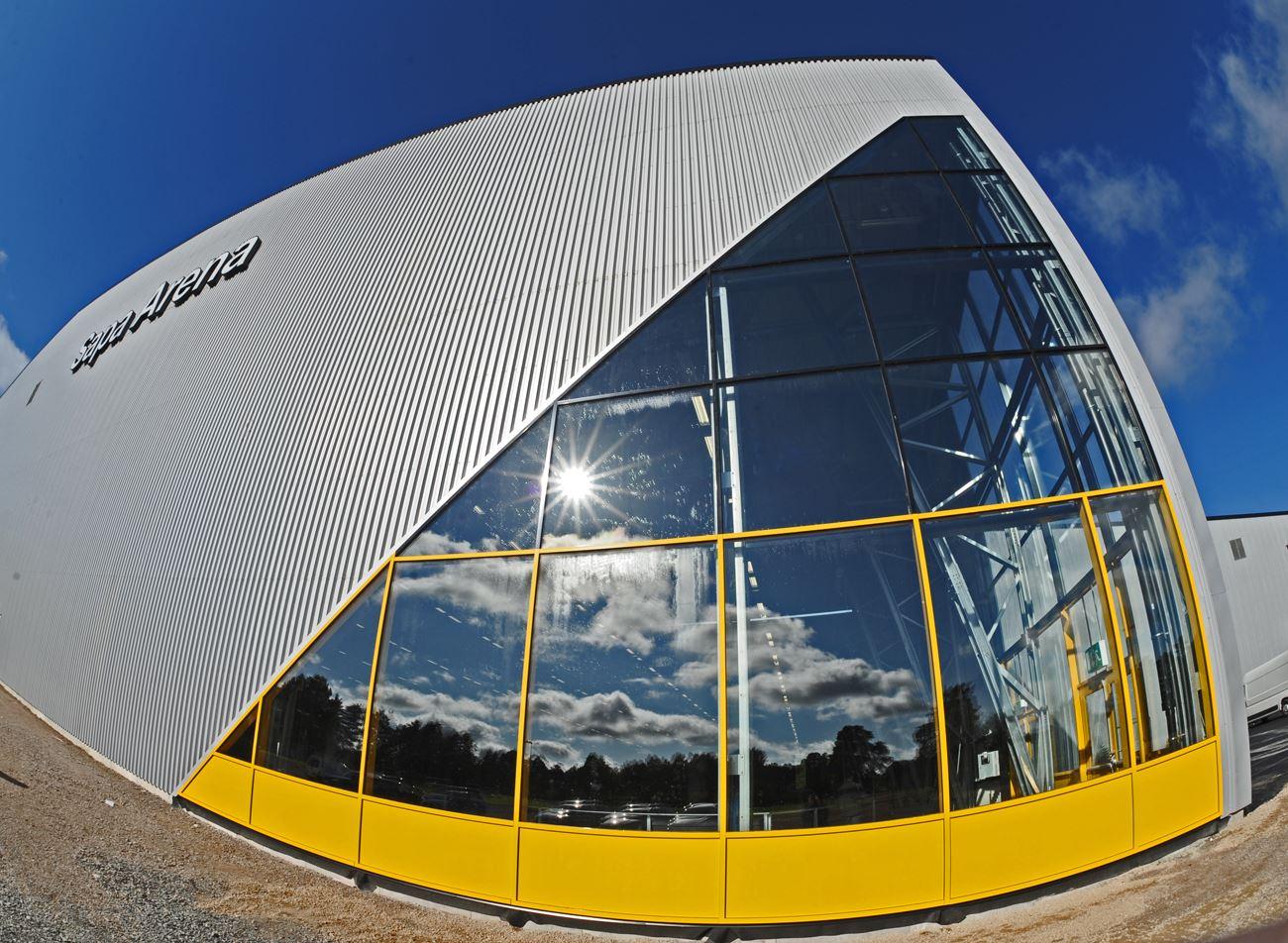 Arenorna på Tjustkulle - Sapa Arena och Heds Arena- Skridskoåkning