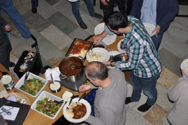 Velkomstmeny catering for gjester i leiligheter og hytter