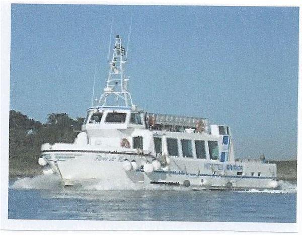 """Croisière Feu d'Artifice à Bord du bateau """"Fleur de Batz"""""""