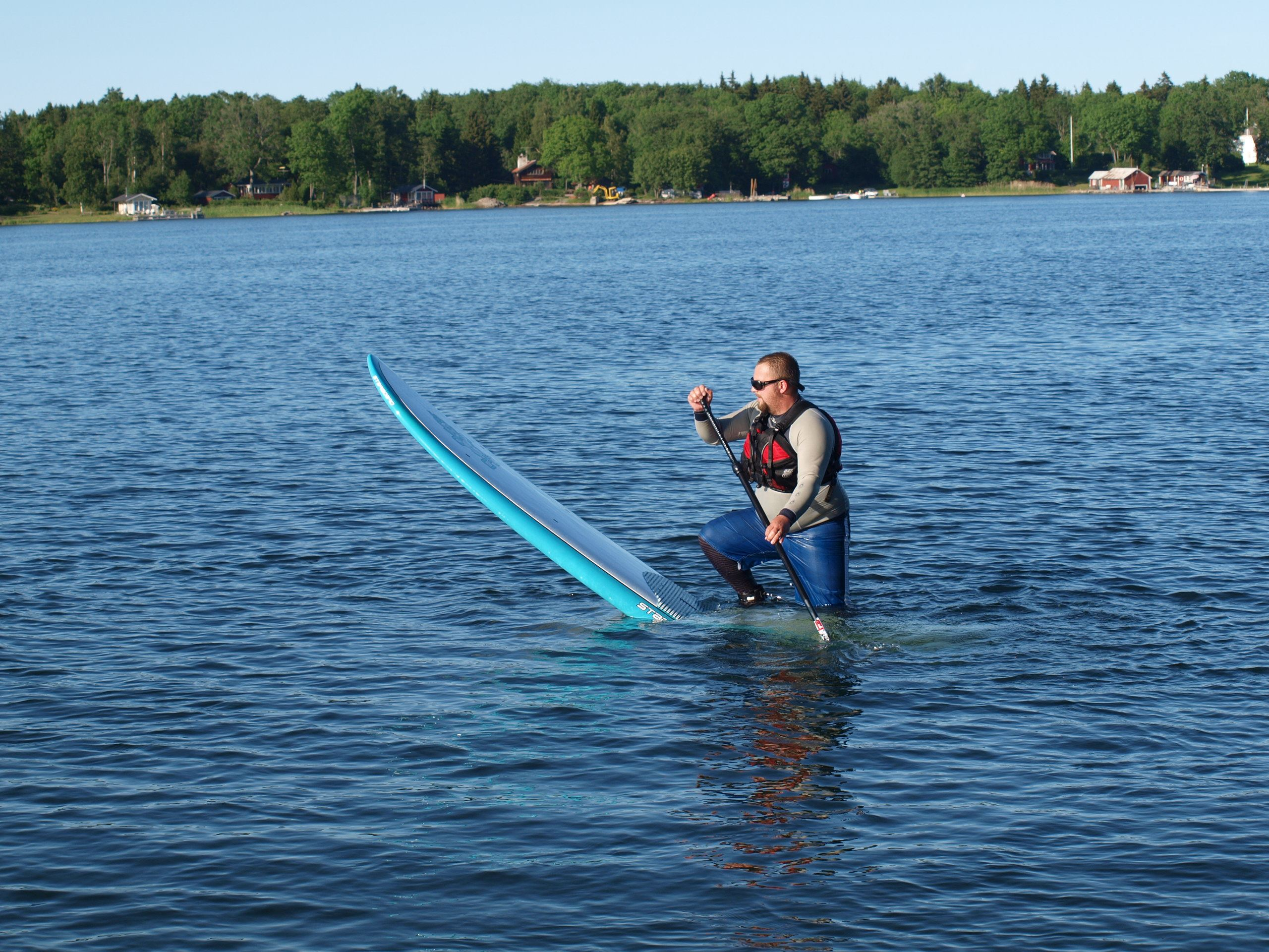 Stand Up Paddle course