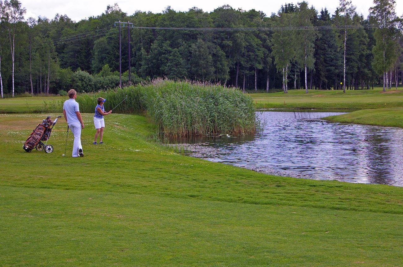 © Vetlanda Golfklubb, Golfbanan