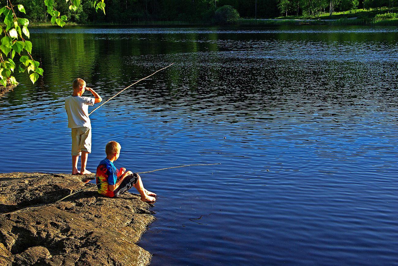 Fishing in Vetlanda