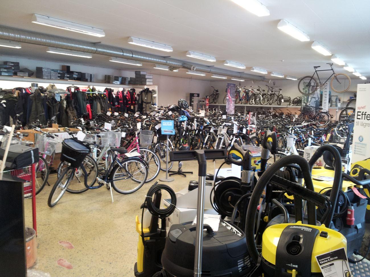 © Vetlanda Turistbyrå, Cyklar Bengtssons cykel & service