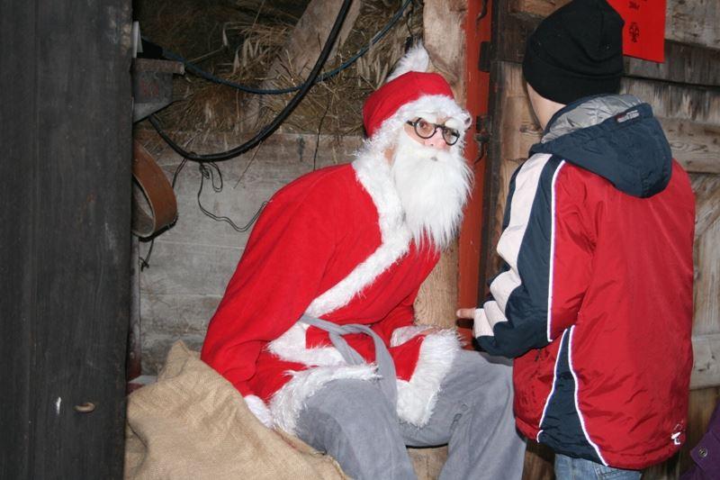 Julmarknad på Glimmebodagården