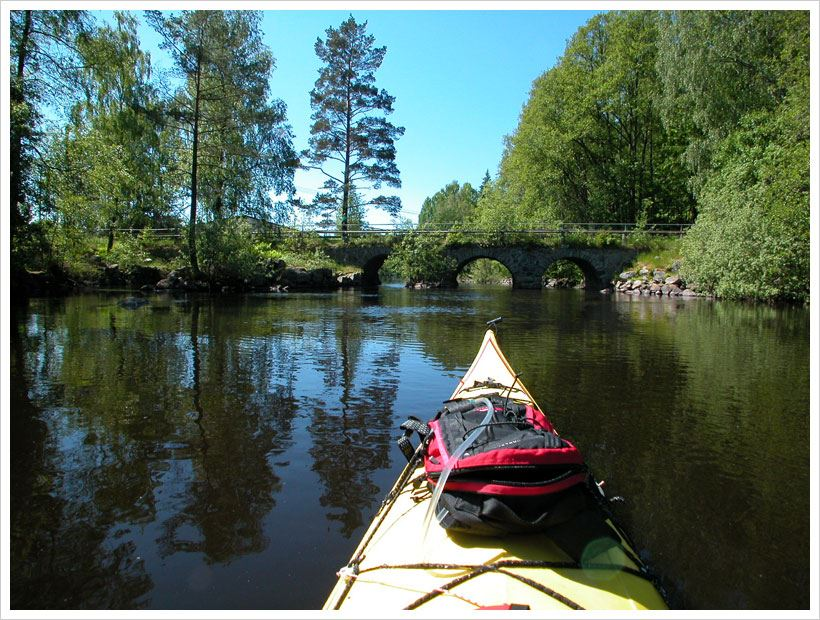 Paddelkompaniet - Canoe trail Ronnebyån