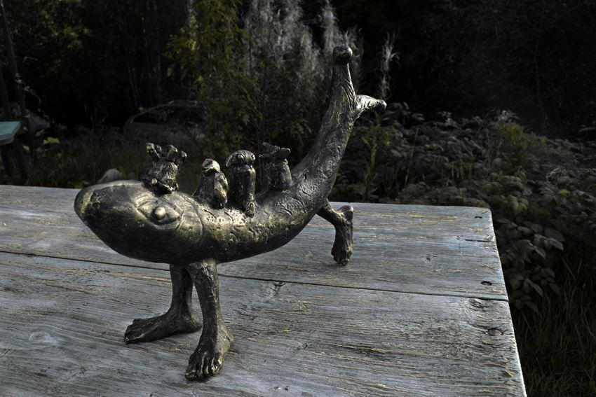 Skulptur av Dag Wallin
