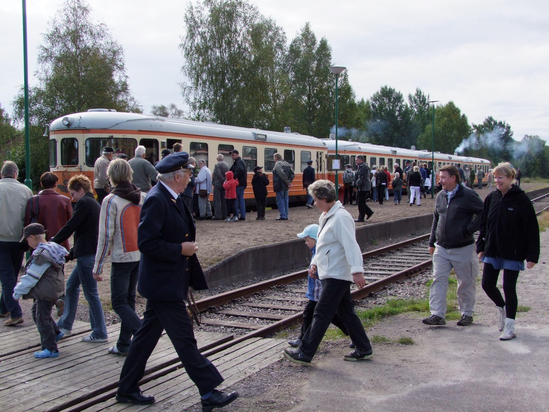 Bengt Rosén, Rälsbuss, Dressin, Lokstallar & Museum Skåne Smålands Jernvägsmuseiförening