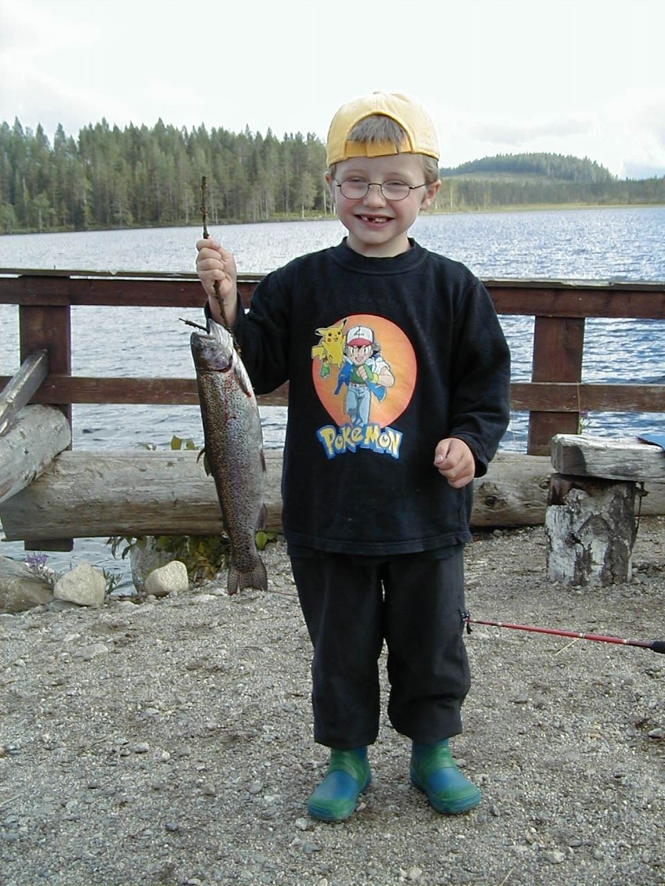 Njutningsfiske i Ljustorp
