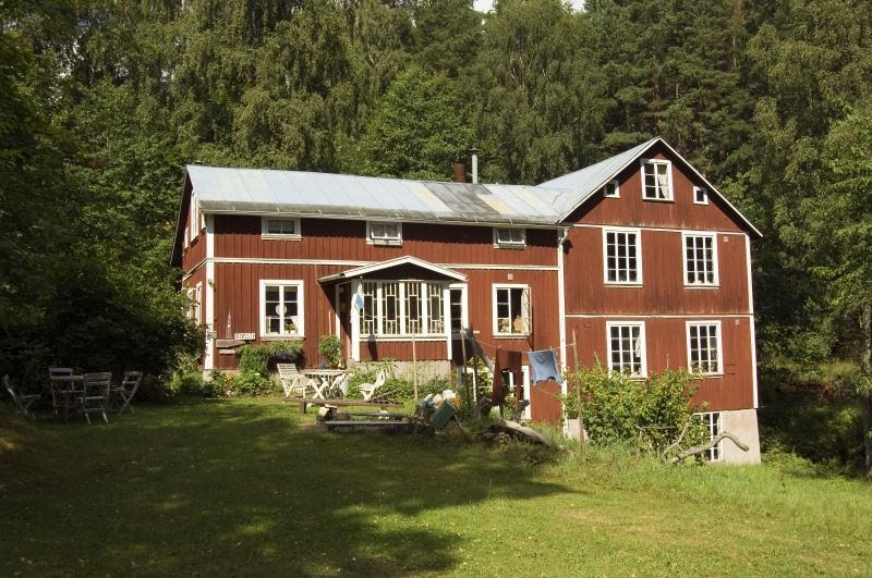 Smålandsbilder, Konstkvarnen – the 'art mill' – in Rödån