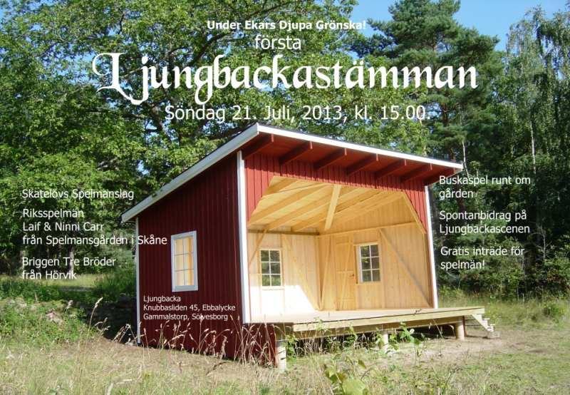 Ljungbackastämman - En folk & vis-festival i Ebbalycke