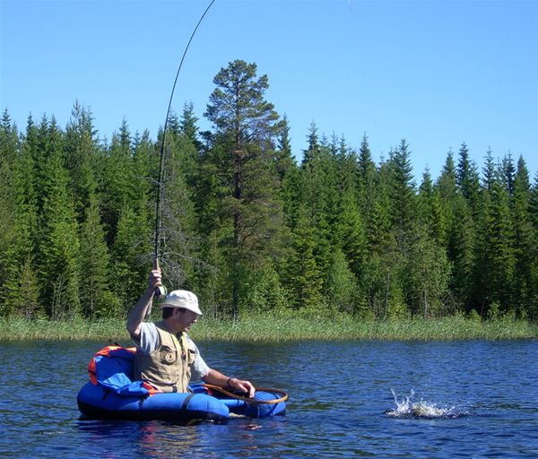 Svante Harström, TEMANATUR- Sportfiske och kajak